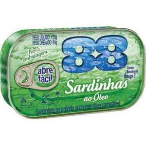 オイルサーディン缶